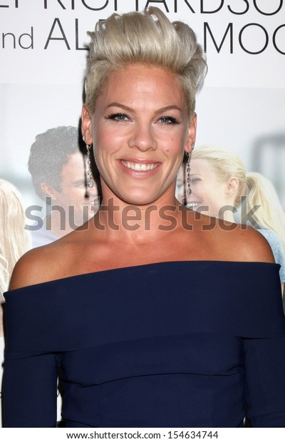 """LOS ANGELES - SEP 16:  Alecia Moore at the """"Thanks for Sharing"""" Premiere  at ArcLight Hollywood Theaters on September 16, 2013 in Los Angeles, CA"""
