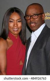 LOS ANGELES - SEP 16:  Angela Bassett, Courtney B. Vance at the TV Academy Performer Nominee Reception at the Pacific Design Center on September 16, 2016 in West Hollywood, CA