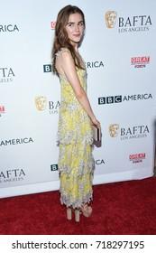 LOS ANGELES - SEP 16:  Kiernan Shipka arrives for the BAFTA TV Tea Party 2017 on September 16, 2017 in West Hollywood, CA