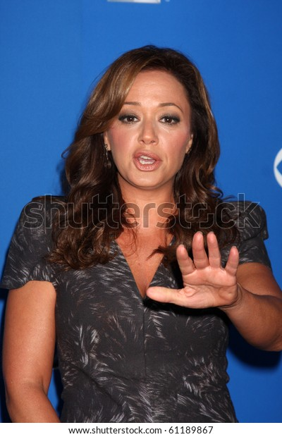 LOS ANGELES - SEP 16:  Leah Remini arrives at the CBS Fall Party 2010 at The Colony on September 16, 2010 in Los Angeles, CA