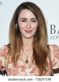 LOS ANGELES - SEP 16:  Madeline Zima arrives for the BAFTA TV Tea Party 2017 on September 16, 2017 in West Hollywood, CA