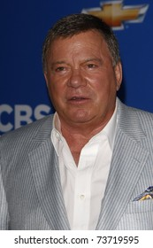 LOS ANGELES - SEP 16:  William Shatner arriving at the CBS Fall Season Premiere Event at The Colony in Los Angeles, California on September 16, 2010.