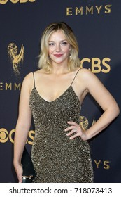 LOS ANGELES - SEP 17:  Abby Elliott at the 69th Primetime Emmy Awards - Arrivals at the Microsoft Theater on September 17, 2017 in Los Angeles, CA