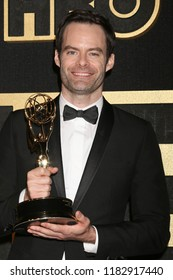 LOS ANGELES - SEP 17:  Bill Hader at the HBO Emmy After Party - 2018 at the Pacific Design Center on September 17, 2018 in West Hollywood, CA
