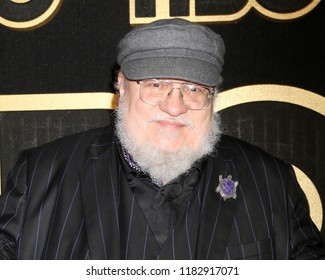 LOS ANGELES - SEP 17:  George RR Martin at the HBO Emmy After Party - 2018 at the Pacific Design Center on September 17, 2018 in West Hollywood, CA