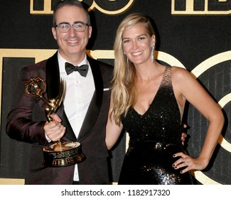 LOS ANGELES - SEP 17:  John Oliver, Kate Norley at the HBO Emmy After Party - 2018 at the Pacific Design Center on September 17, 2018 in West Hollywood, CA