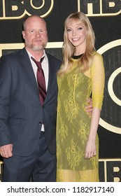 LOS ANGELES - SEP 17:  Joss Whedon, Riki Lindhome at the HBO Emmy After Party - 2018 at the Pacific Design Center on September 17, 2018 in West Hollywood, CA