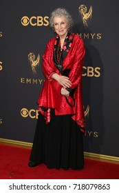 LOS ANGELES - SEP 17:  Margaret Atwood at the 69th Primetime Emmy Awards - Arrivals at the Microsoft Theater on September 17, 2017 in Los Angeles, CA