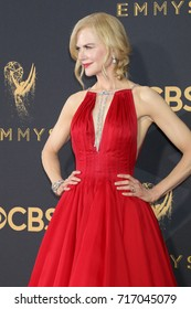 LOS ANGELES - SEP 17:  Nicole Kidman at the 69th Primetime Emmy Awards - Arrivals at the Microsoft Theater on September 17, 2017 in Los Angeles, CA
