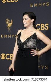LOS ANGELES - SEP 17:  Rachel Bloom at the 69th Primetime Emmy Awards - Arrivals at the Microsoft Theater on September 17, 2017 in Los Angeles, CA