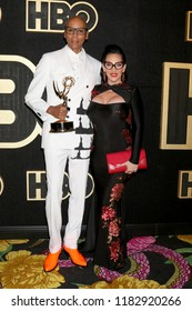 LOS ANGELES - SEP 17:  RuPaul Andre Charles, Michelle Visage at the HBO Emmy After Party - 2018 at the Pacific Design Center on September 17, 2018 in West Hollywood, CA