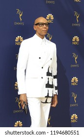 LOS ANGELES - SEP 17:  RuPaul at the 2018 Emmy Awards Arrivals at the Microsoft Theater on September 17, 2018 in Los Angeles, CA