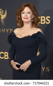 LOS ANGELES - SEP 17:  Susan Sarandon at the 69th Primetime Emmy Awards - Arrivals at the Microsoft Theater on September 17, 2017 in Los Angeles, CA