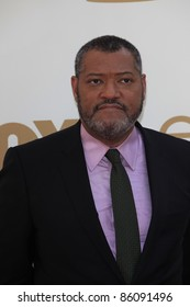 LOS ANGELES - SEP 18: Lawrence Fishburne at the 63rd Annual Primetime Emmy Awards held at Nokia Theater L.A. LIVE on September 18, 2011 in Los Angeles, California
