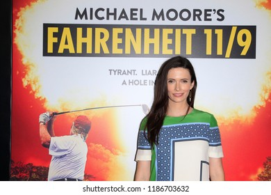 "LOS ANGELES - SEP 19:  Bitsie Tulloch at the ""Fahrenheit 11/9"" Los Angeles Premiere at the Samuel Goldwyn Theater at AMPAS on September 19, 2018 in Beverly Hills, CA"