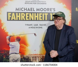 """LOS ANGELES - SEP 19:  Michael Moore at the """"Fahrenheit 11/9"""" Los Angeles Premiere at the Samuel Goldwyn Theater at AMPAS on September 19, 2018 in Beverly Hills, CA"""