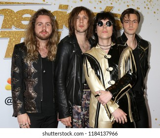 "LOS ANGELES - SEP 19:  The Struts at the ""America's Got Talent"" Crowns Winner Red Carpet at the Dolby Theater on September 19, 2018 in Los Angeles, CA"