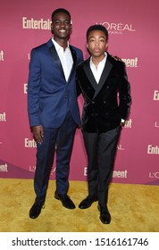 LOS ANGELES - SEP 20:  Ethan Herisse and Asante Blackk arrives for the Entertainment Weekly Pre Emmy Party on September 20, 2019 in West Hollywood, CA