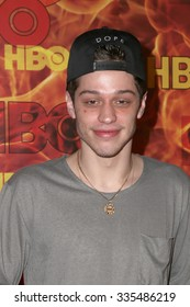 LOS ANGELES - SEP 20:  Pete Davidson at the HBO Primetime Emmy Awards After-Party at the Pacific Design Center on September 20, 2015 in West Hollywood, CA