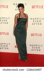 "LOS ANGELES - SEP 20:  Sanaa Lathan at the ""Nappily Ever After"" Special Screening at the Harmony Gold Theater on September 20, 2018 in Los Angeles, CA"