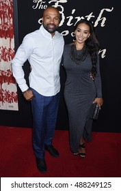 """LOS ANGELES - SEP 21:  Derek Jeter and Gloria Govan arrives to """"The Birth Of A Nation"""" Los Angeles Premiere  on September 21, 2016 in Los Angeles, CA"""