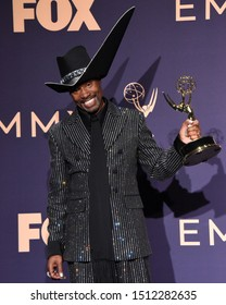 LOS ANGELES - SEP 22:  Billy Porter at the Emmy Awards 2019: PRESS ROOM at the Microsoft Theater on September 22, 2019 in Los Angeles, CA