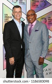 LOS ANGELES - SEP 22:  Christopher Mason, Paris Barclay at the LA LGBT Center`s 49th Anniversary Gala at the Beverly Hilton Hotel on September 22, 2018 in Beverly Hills, CA