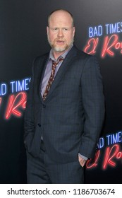 """LOS ANGELES - SEP 22:  Joss Whedon at the """"Bad Times at the El Royale"""" Global Premiere at the TCL Chinese Theater IMAX on September 22, 2018 in Los Angeles, CA"""