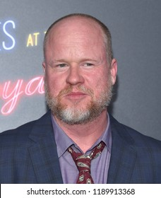 """LOS ANGELES - SEP 22:  Joss Whedon arrives to the """"Bad Times at the El Royale"""" Global Premiere  on September 22, 2018 in Hollywood, CA"""
