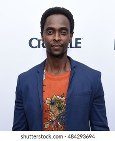 "LOS ANGELES - SEP 23:  Edi Gathegi arrives to the Crackle's Original Series ""Startup"" Premiere on September 23, 2016 in Hollywood, CA"