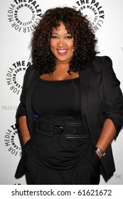 """LOS ANGELES - SEP 23:  Kym Whitley arrives at """"The Cleveland Show"""" DVD Release Party & Panel DIscussion  at Paley Center for Media on September 23, 2010 in Beverly Hills, CA"""