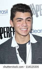 """LOS ANGELES - SEP 24:  Adam Irigoyen arrives at the """"Pitch Perfect'"""" Premiere at ArcLight Cinemas on September 24, 2012 in Los Angeles, CA"""
