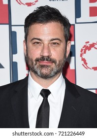 LOS ANGELES - SEP 24:  Jimmy Kimmel arrives for the LGBT Center's Vanguard Awards 2017 on September 24, 2017 in Beverly Hills, CA