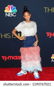 LOS ANGELES - SEP 25: Eris Baker at the Premiere of NBC's 'This Is Us' Season 3 at Paramount Studios on September 25, 2018 in Los Angeles, California