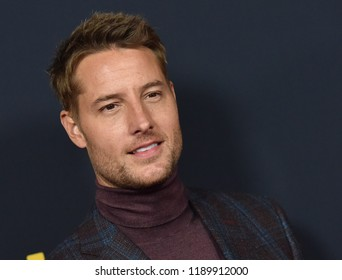 LOS ANGELES - SEP 25:  Justin Hartley arrives to the 'This Is Us' Season 3 Premiere  on September 25, 2018 in Hollywood, CA