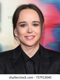 LOS ANGELES - SEP 27:  Ellen Page arrives for the 'Flatliners' World Premiere on September 27, 2017 in Los Angeles, CA
