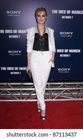 """LOS ANGELES - SEP 27:  Evan Rachel Wood arrives to the """"The Ides of March"""" Los Angeles Premiere  on September 27,2011 in Beverly Hills, CA"""