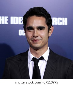 """LOS ANGELES - SEP 27:  Max Minghella arrives to the """"The Ides of March"""" Los Angeles Premiere  on September 27,2011 in Beverly Hills, CA"""
