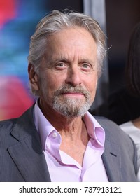 LOS ANGELES - SEP 27:  Michael Douglas arrives for the 'Flatliners' World Premiere on September 27, 2017 in Los Angeles, CA