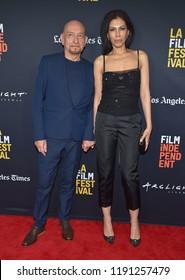 LOS ANGELES - SEP 28:  Ben Kingsley and Daniela Lavender arrives to the 'Nomis' World Premiere - LA Film Festival  on September 28, 2018 in Hollywood, CA