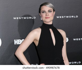"LOS ANGELES - SEP 28:  Evan Rachel Wood at the HBO's ""Westworld"" Los Angeles Premiere at the TCL Chinese Theater IMAX on September 28, 2016 in Los Angeles, CA"