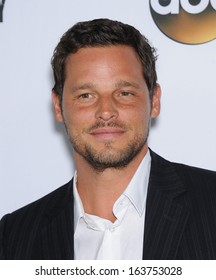 """LOS ANGELES - SEP 28:  Justin Chambers arrives to """"Grey's Anatomy"""" 200th Episode Party  on September 28, 2013 in Hollywood, CA"""