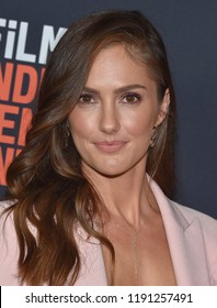 LOS ANGELES - SEP 28:  Minka Kelly arrives to the 'Nomis' World Premiere - LA Film Festival  on September 28, 2018 in Hollywood, CA