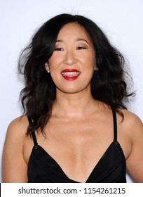 "LOS ANGELES - SEP 28:  Sandra Oh arrives to the ""Grey's Anatomy"" 200th Episode Party  on September 28, 2013 in Hollywood, CA"