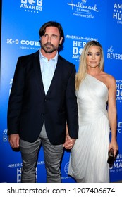 LOS ANGELES - SEP 29:  Aaron Phypers, Denise Richards at the  2018 American Humane Hero Dog Awards at the Beverly Hilton Hotel on September 29, 2018 in Beverly Hills, CA