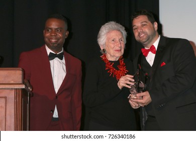 LOS ANGELES - SEP 30:  Delious Kennedy, Marcia Nasatir, Ron Truppa at the Catalina Film Festival Awards at the Casino on Catalina Island on September 30, 2017 in Avalon, CA