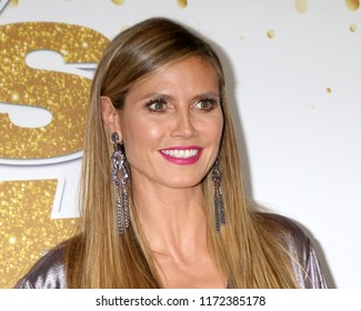 """LOS ANGELES - SEP 4:  Heidi Klum at the """"America's Got Talent"""" Live Show Red Carpet at the Dolby Theater on September 4, 2018 in Los Angeles, CA"""