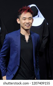 """LOS ANGELES - SEP 4:  James Wan at the """"The Nun"""" World Premiere at the TCL Chinese Theater IMAX on September 4, 2018 in Los Angeles, CA"""