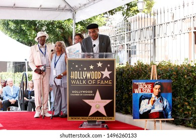 LOS ANGELES - SEP 4:  John Wilson at the Jackie Wilson Star Ceremony on the Hollywood Walk of Fame on September 4, 2019 in Los Angeles, CA