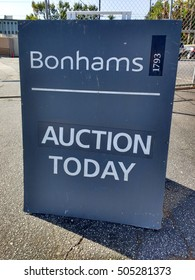 LOS ANGELES, SEP 4TH, 2016: Bonhams and Butterfield (formerly Butterfield and Butterfield) a premier auction house in Hollywood, California, selling high-priced art, antiques and movie memorabilia.